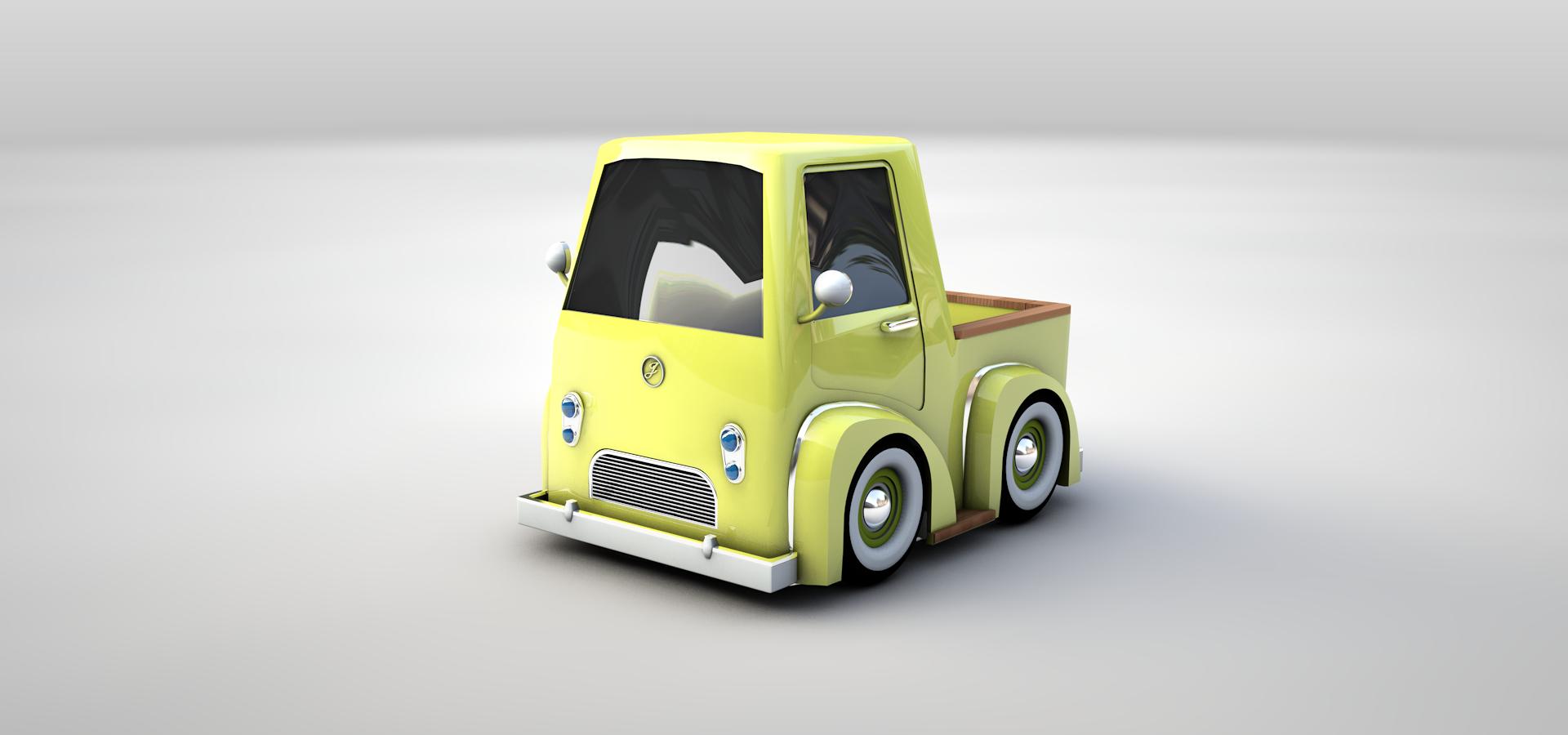 Model Sample_Truck01