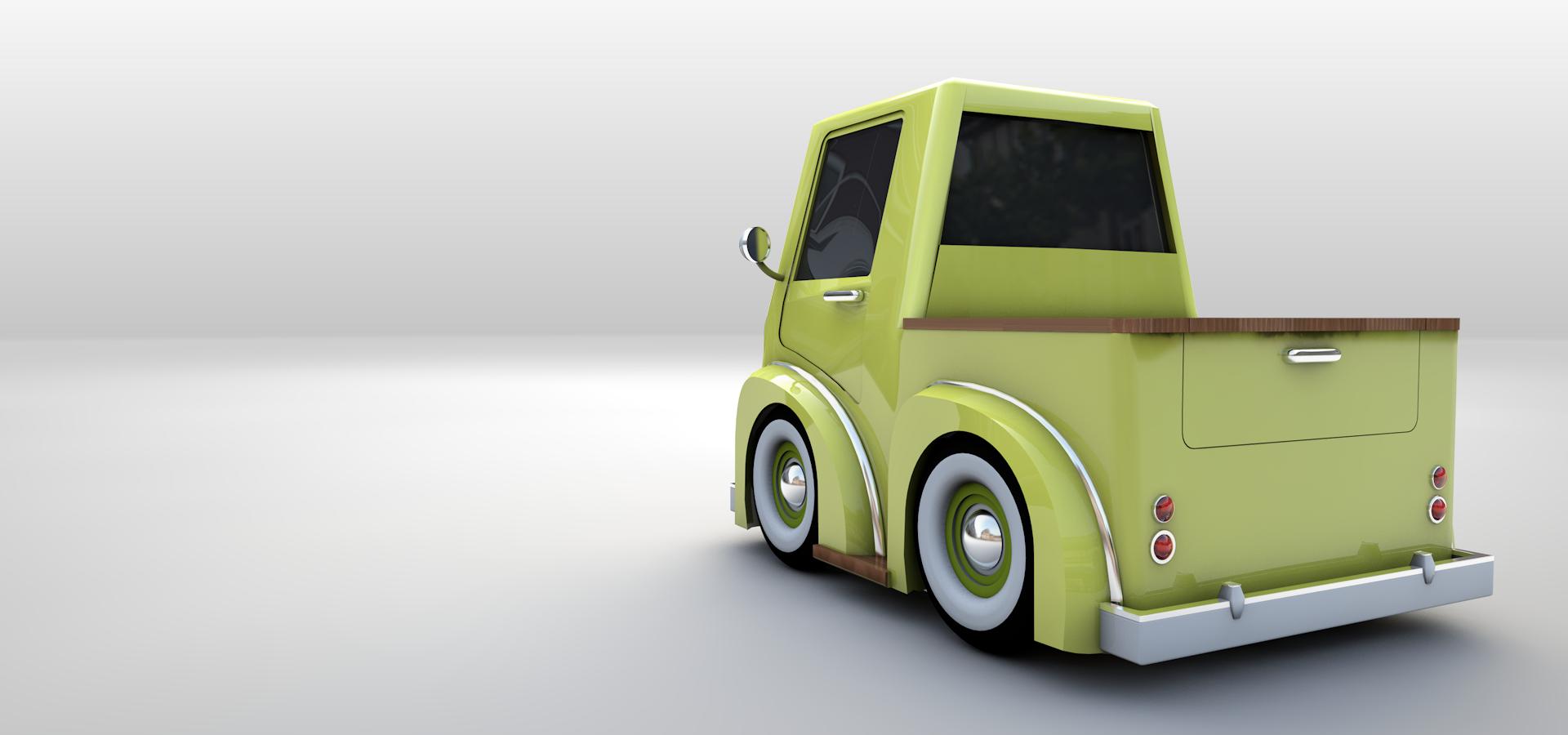 Model Sample_Truck02