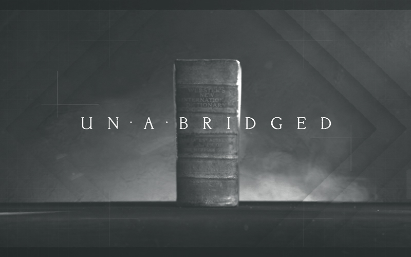 Unabridged - Spec Title Sequence