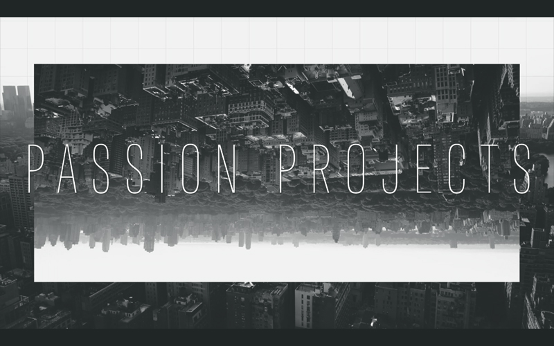 Passion Projects - Show Graphic Package